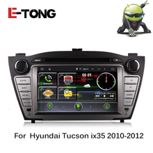 Android 4.4 double 2 din Car DVD Multimedia Player For Hyundai IX35 GPS Navigation Support AutoRadio steer-wheel Camera OBD