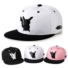 Pokemon Pikachu Cotton Hip Hop Baseball Cap