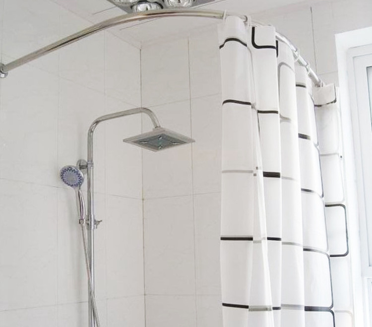 Popular Curved Shower Curtain Rod Buy Cheap Curved Shower Curtain Rod Lots From China Curved
