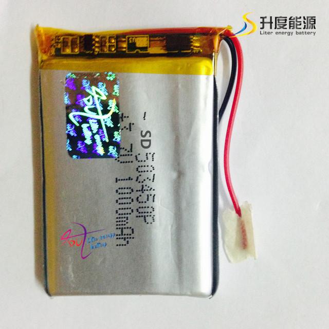 SD503450 3.7V 1000mah Li-ion Rechargeable Battery Li ion Battery 503450
