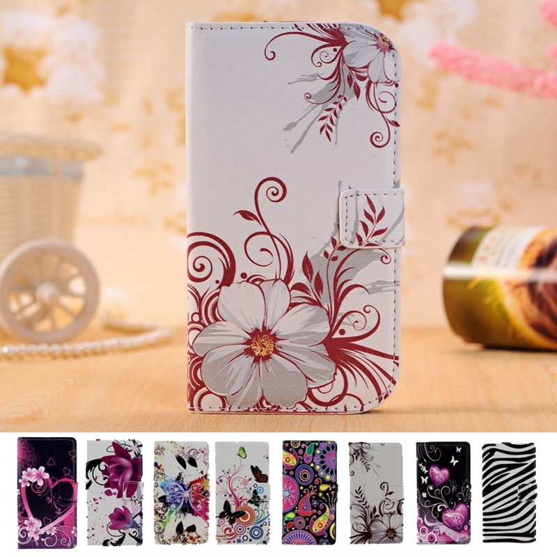 ed88b299944d Fashion Butterfly Leather Wallet Case For Microsoft Nokia Lumia 950 N950  Phone Cases Stand Fundas Back Cover Shell Bag Holder