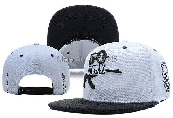 Sneaktip white black Snapback hats 50 NIGGAZ Famous Brand Hip Hop mens  Sports gorras bones xindonfan baseball caps 5383e6849f4