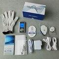 2 Canais TENS/EMS Mini Digital LCD Massageador com luvas & 4 pastilhas de 6 modos de Massagem Dor-Aliviar