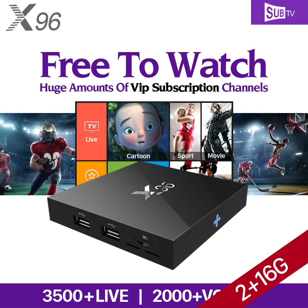 4K X96 Android 6.0 Smart TV Box IPTV 1 Year Abonnement SUBTV IUDTV IPTV Subscription QHDTV PK X92 Arabic Europe IPTV Top Box hot x96 tv box 2gb 16gb s905x quad core 2 4ghz wifi hdmi smart set top box with iudtv iptv abonnement french arabic iptv top box