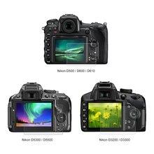 Temperato Vetro Ottico LCD HD Ultra sottile 9H Pellicola di Protezione della protezione Dello Schermo Della Fotocamera Per Nikon D5300 D5500 D7100 d7200 D750 D3200