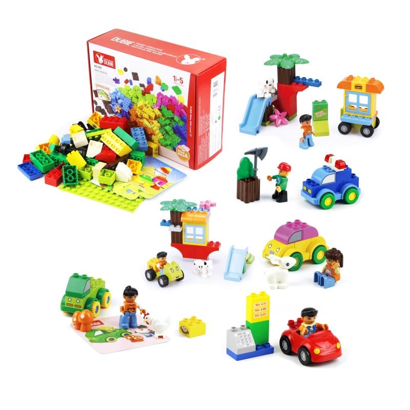 Building Toys For Babies : Meoa big building block compatible duplo brick