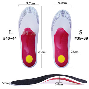 Image 3 - 1 Pair Professional Orthotic Arch Support Insole for Foot Pain Relief Heel Spur Plantar Fasciitis Corrector orthopedic Foot Care