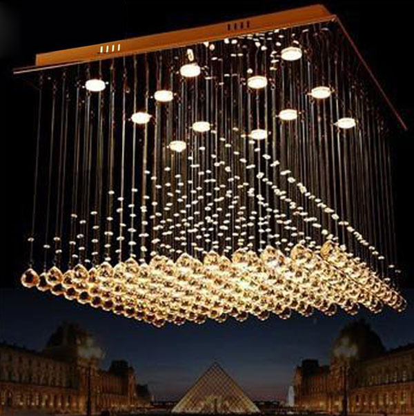Modern LED Crystal ceiling light fittings for bedroom Foyer dinning room  kitchen Hallway Corridor Free Shipping