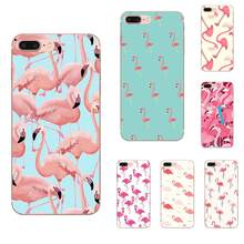 Flamant Rose Flamingo para Huawei Honor 4C 5A 5X 6A 6C 6X7X9 V8 V10 Mate 7 8 10 P9 P20 Pro Lite Play TPU funda de móvil(China)
