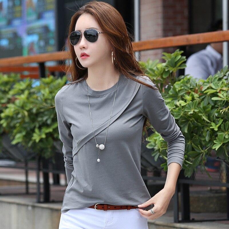 Autumn Winter T Shirt Women Long Sleeve