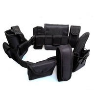 CCGK Tactical Belt 8 In1 Multi Functional Belt Security Police Guard Utility Kit Tactical Military Belt