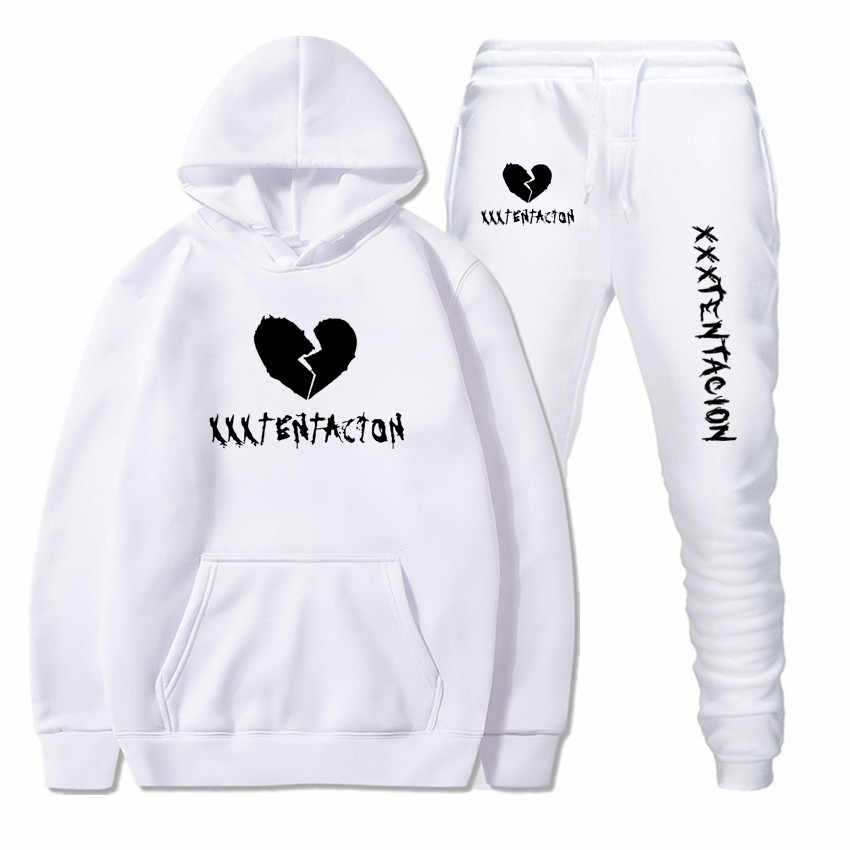 Men suit Outwear Hoodies+Pants Sportwear Male Sets Sweatshirts Cardigan Men Set Clothing plus size 3XL