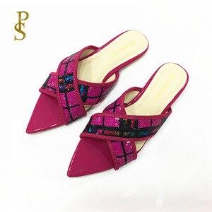 Image 1 - الصيف الشقق أحذية نسائية Ms النعال سيدة الأحذية