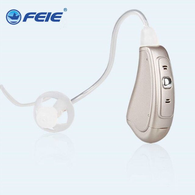 Invisible Earphone HEARING AID In-ear Microphone Hearing Aids for Deaf Headset Amplifiers Ear Instrument MY-19S
