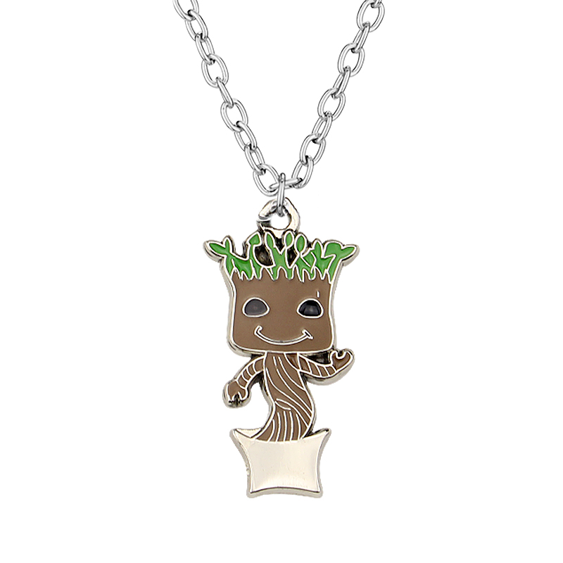 Fashion Jewelry Guardians of the Galaxy Necklace Pendant Men Women Gift