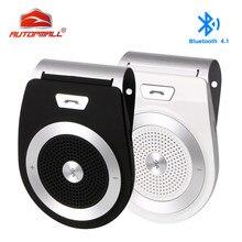 Drahtlose Bluetooth Car Kit T821 Lautsprecher Freisprecheinrichtung Auto Kit Unterstützung Bluetooth 4,1 Auto Bluetooth Kit Hände Frei anrufe