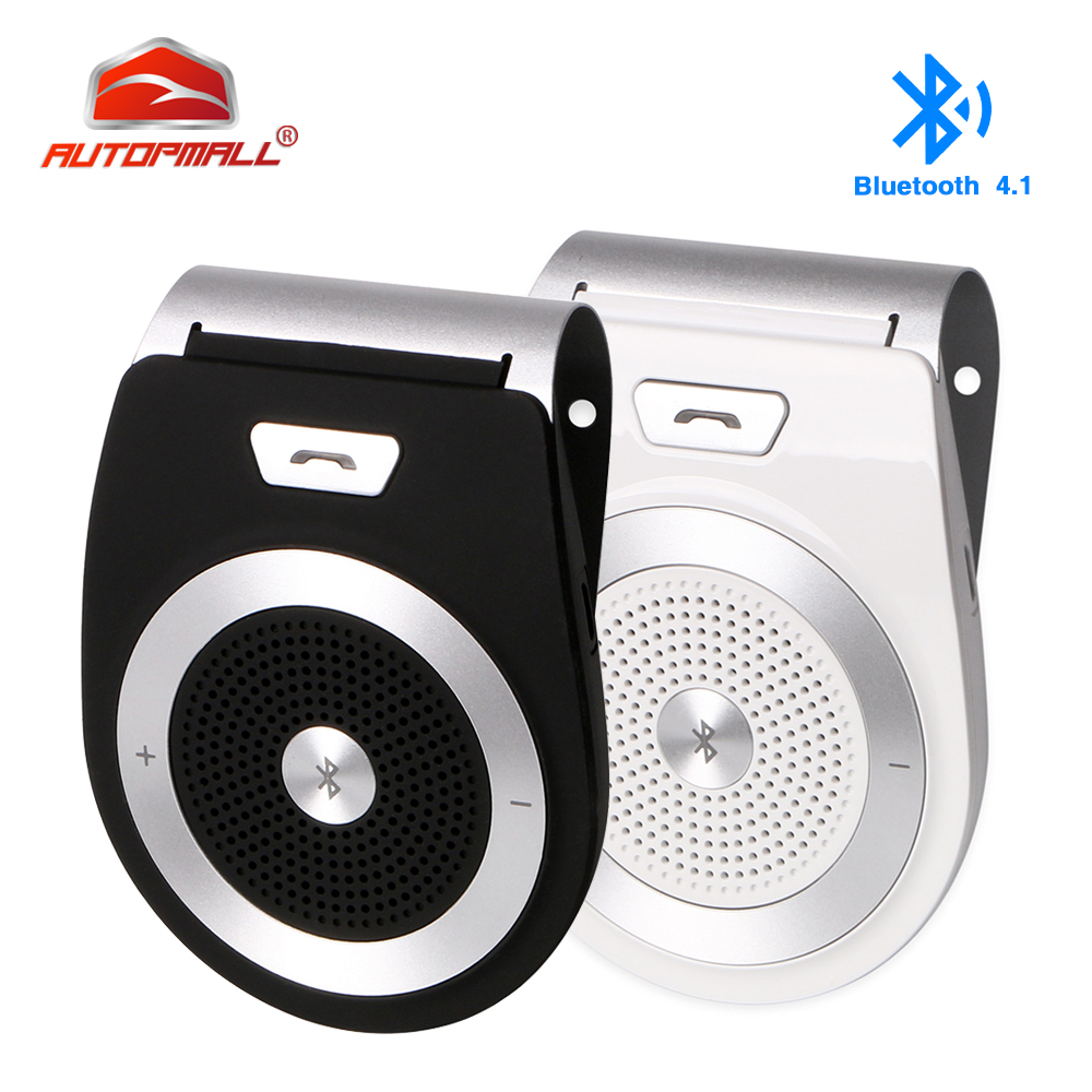 Wireless Bluetooth Car Kit T821 Speaker Speakerphone Hands-free Car Kit Support Bluetooth 4.1 Car Bluetooth Kit Hands Free Calls