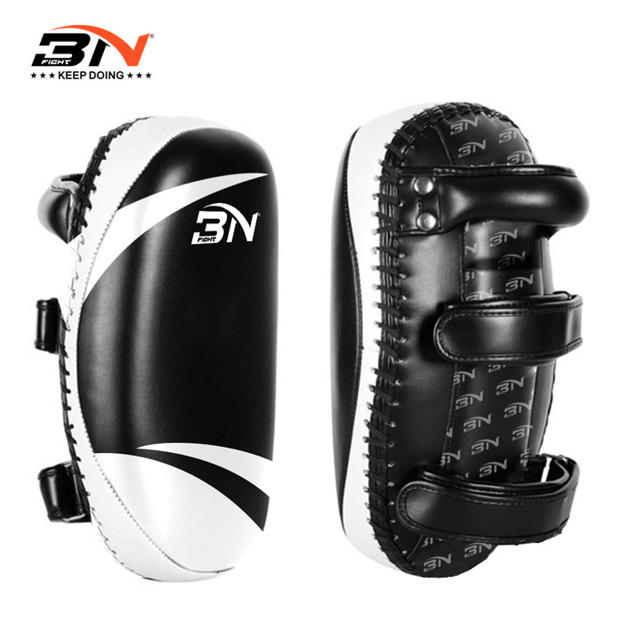 BN 1 pièce 850g coups de pied Muay Thai coussinets de boxe Mma bouclier cible cible Taekwondo Kickboxing Arts martiaux équipement d'entraînement DBE - 3