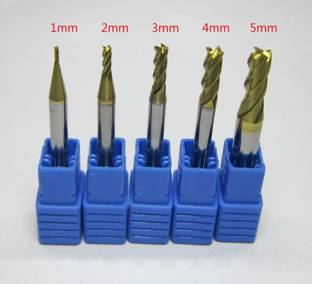 10PCS DIA 3mm HRC58 2 flutes Tungsten Carbide flat End Mill milling cutter CNC