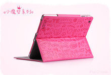 New Fashion High Quality Protection Skin PU Leather Case For Apple iPad 2 3 4