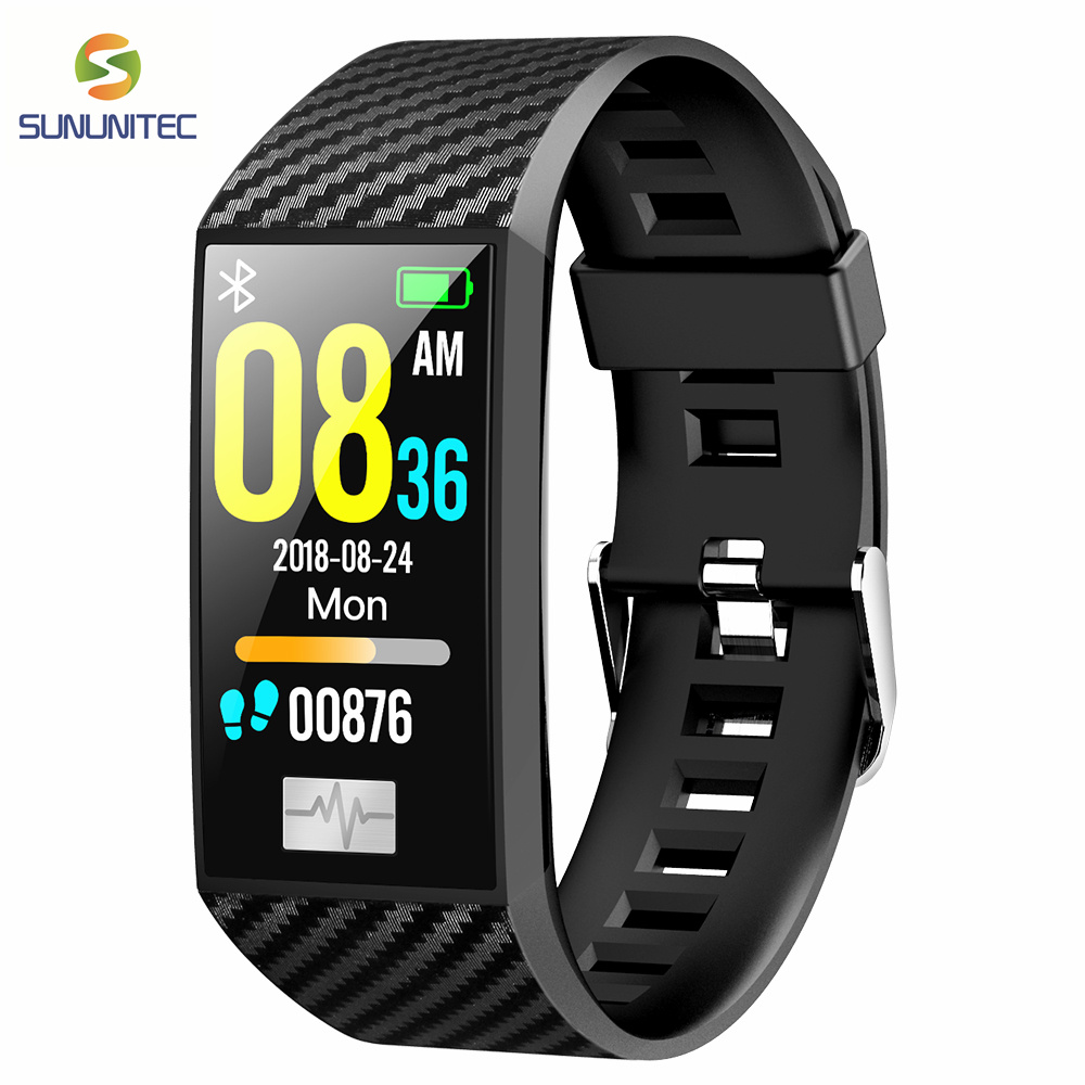 IP68 Waterproof DT58 Fitness Bracelet HRV Watch Blood font b Pressure b font Monitor Smart Wristband