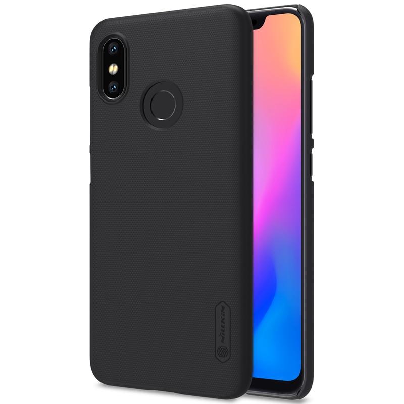 sale retailer 08ee3 b74d4 US $7.99 5% OFF xiaomi mi8 Case xiaomi mi 8 8se mi6 Cover Nillkin Frosted  Shield Back Cover Case For Xiaomi mi8 se mi 6 Case with retail package-in  ...