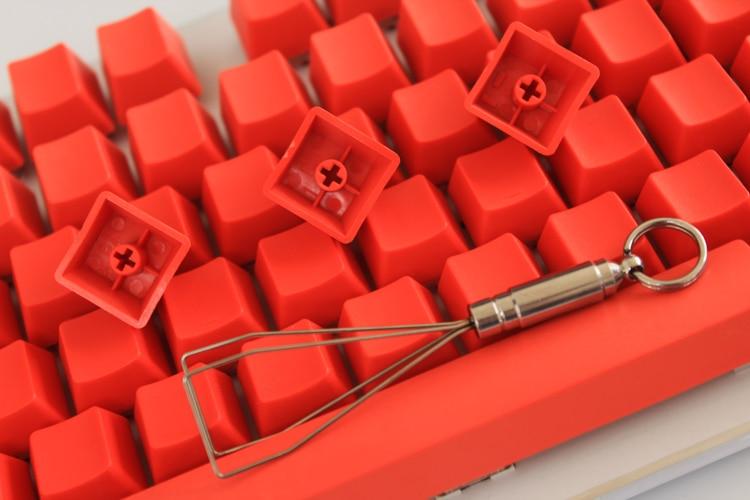 MP 108/87 klahviga PBT punane tühi võtmehoidja kõrge - Arvuti välisseadmed - Foto 5