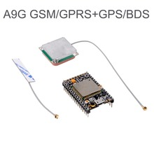 GPRS GSM GPS BDS A9G Module Development Board GPS Antenna SMS Voice Wireless for Smart Watch AT Tracker Tracking new arrival sim808 gprs gsm module gsm and gps two in one function module quad band with gsm antenna and gps antenna diy kit