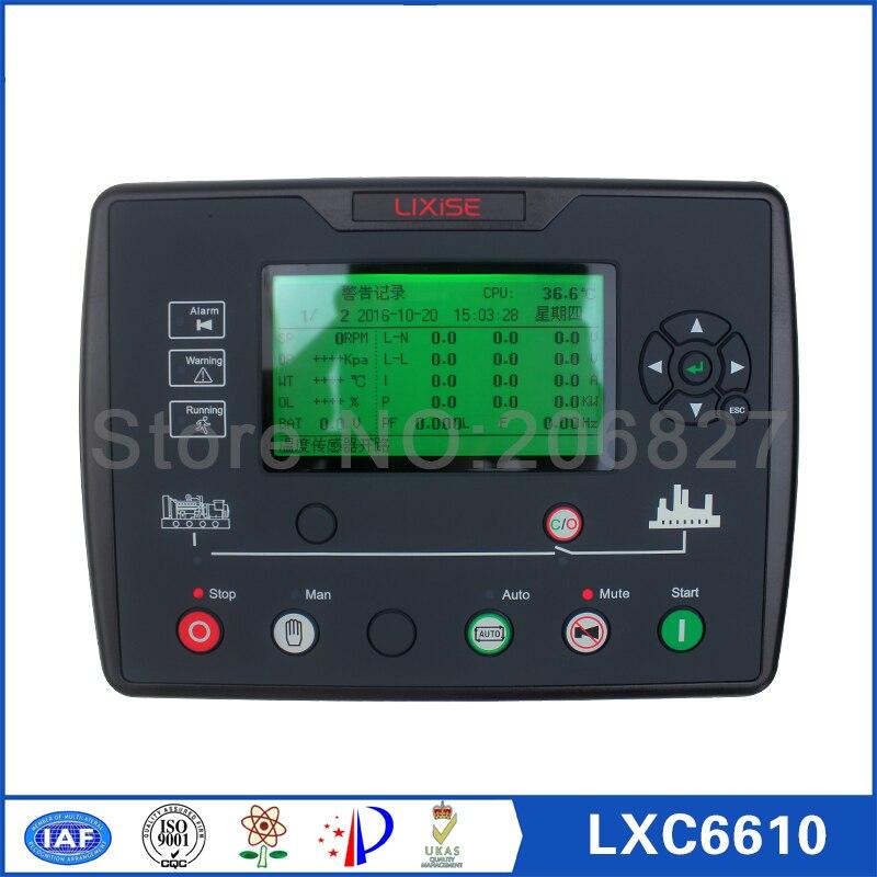 где купить Generator controller LXC6610 genset engine control unit по лучшей цене
