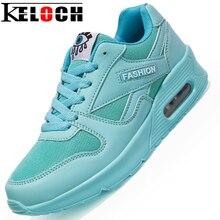 Keloch Pareja Sport Zapatos Corrientes de Los Hombres Las Mujeres Cómodas Zapatillas de Deporte Transpirable de Encaje Hasta Zapatos Deportivos Estilo de Vida Chaussure Femme