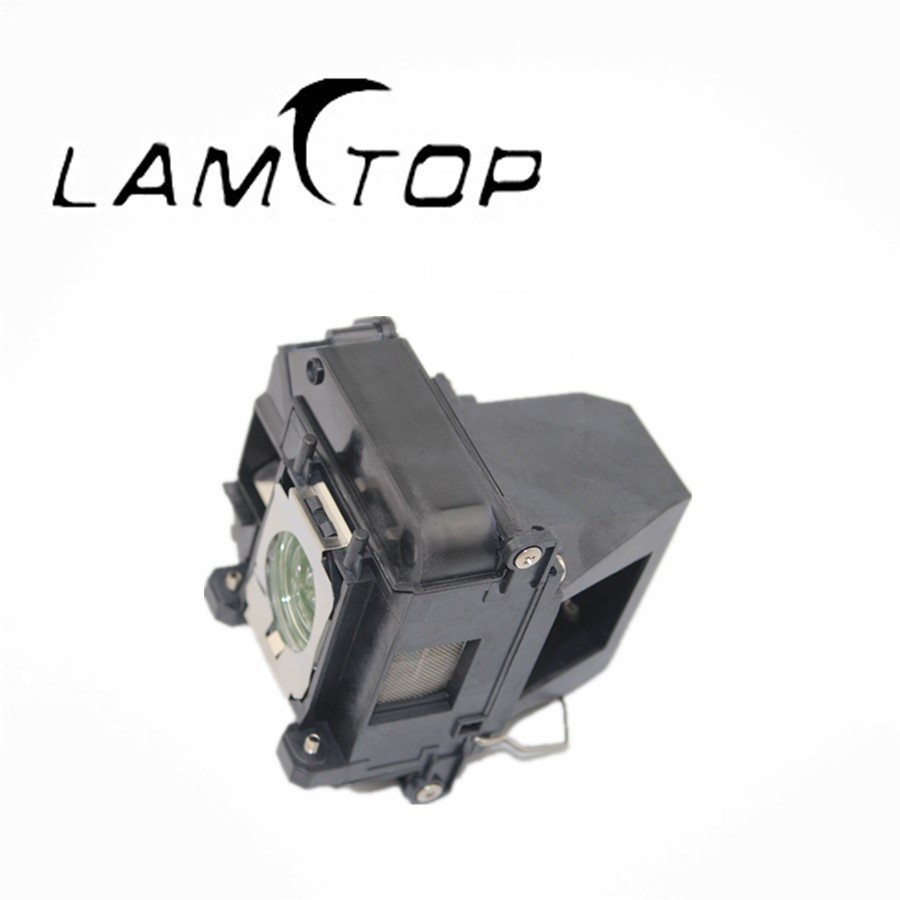 FREE SHIPPING  LAMTOP  180 days warranty  projector lamps with housing  ELPLP64/V13H010L64  for  EB-1880 free shipping new projector lamps bulbs elplp55 v13h010l55 for epson eb w8d eb dm30 etc