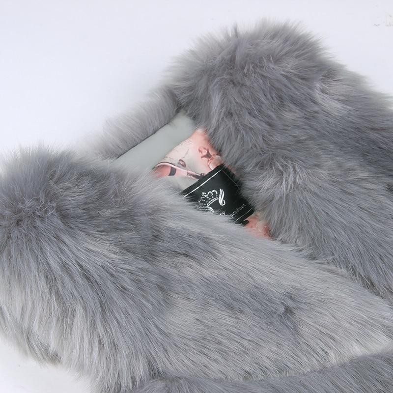 New Fashion Faux Fur Coat Winter Coat Women Waist Coat Fur Gilet Women's Fur Jacket Fur Vest For Ladies 11