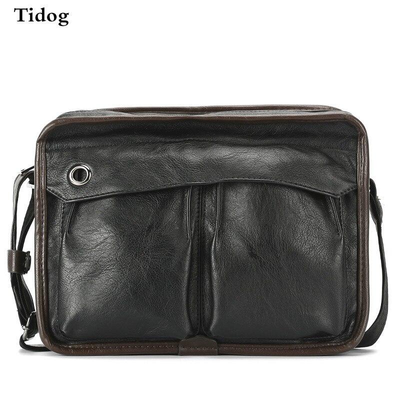 Tidog Business casual bag Satchel singles tide shoulder bag 15