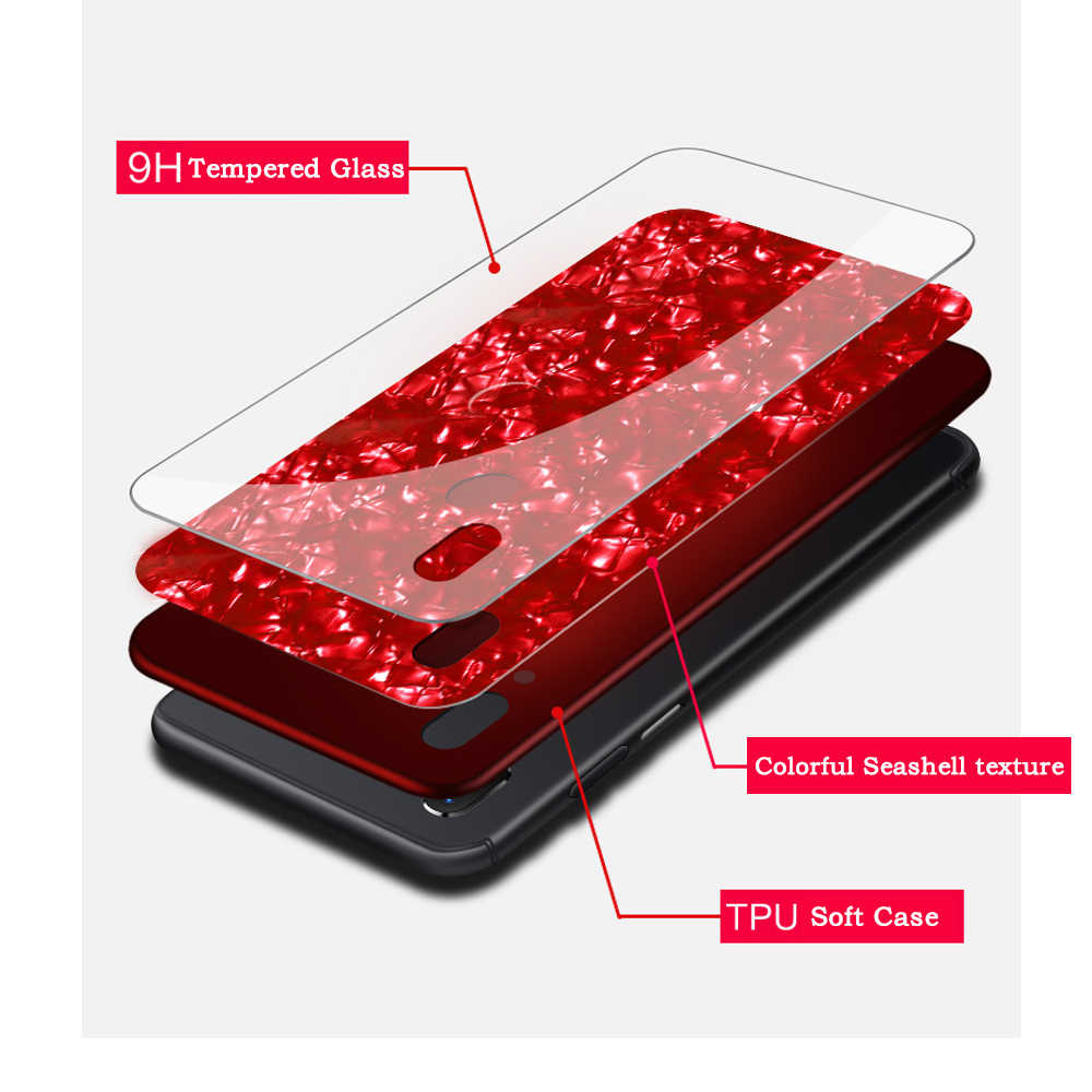 Красивый цветной корпус для Honor Play для huawei Honor 7A 7C Pro 7X8X9 Lite 10X7X8 закаленное стекло ТПУ Силиконовая задняя крышка