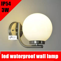 Outdoor Lamp 3W 5W LED Wall Sconce Light Fixture Waterproof Building Exterior Gate Balcony Garden Yard AC85 265V