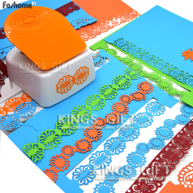 Fancy Border Punch Flower Designs Paper Punch For Scrapbook Diy