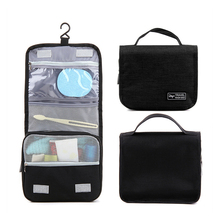 Waterproof Travel Toiletries Storage Bag Polyester Hanging Organizer Makeup Portable Cosmetic Pouch Multifunction