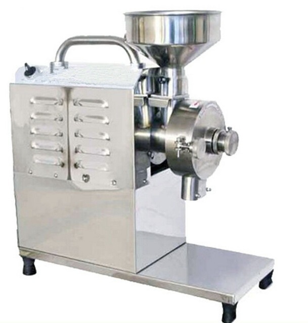 Spice and Chinese Herb Grinder, Sugar Peppe Mill, Soybean Grain Food Grinding Machine, STAINLESS STEEL