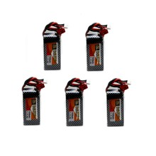 5pcs Bateria Lipo LiPo Battery 11.1V 1500Mah 3S 40C Max 60C XT60 Plug For RC Quadcopter Drone Helicopter Car Airplane Toy Parts