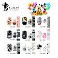 Beautome 1 Pc Nail Art Sticker Mickey Minnie Impressão Pontas Das Unhas Cobertura completa Decalques Decoração DIY Manicure Beleza Presente para a Senhora meninas