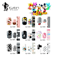 Beautome 1Pc Nail Art Sticker Mickey Minnie Print Nail Tips Full Cover Decoration Decals DIY Manicure Beauty Gift for Lady Girls