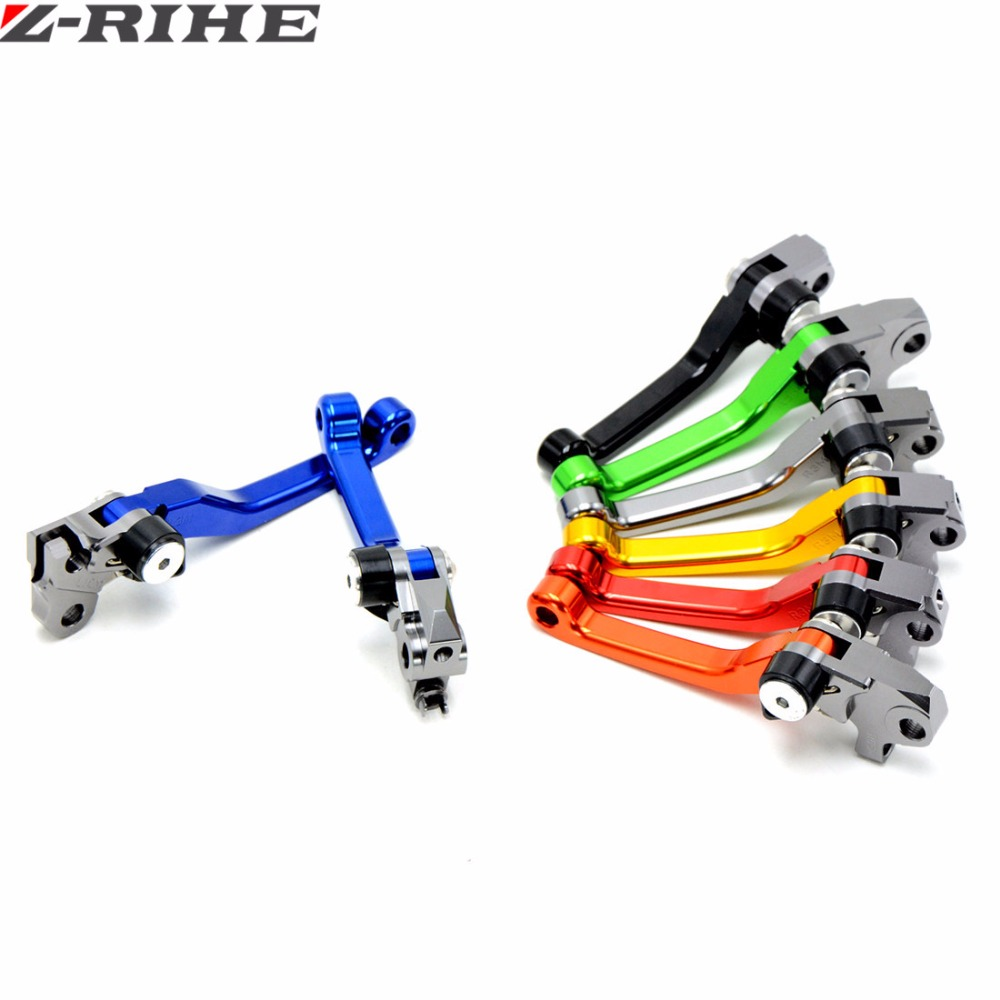 New arrival Motorcycle CNC Pivot Brake Clutch Levers For Yamaha YZ450F YZ 450F YZ450 F 2009-2014 BLUE 2010 2011 2012 2013 motorcycle pivot brake clutch levers cnc golden brake clutch lever for kawasaki klx 150 s 2009 2010 2011 2012
