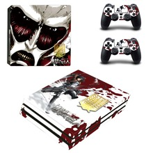 Anime Attack On Titan PS4 Pro Skin Sticker Vinyl Decal