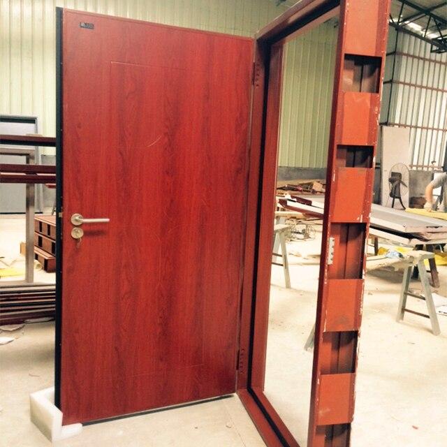 Security Soundproof External Nigeria Steel Door Factory & Security Soundproof External Nigeria Steel Door Factory-in Doors ...
