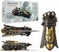 Assassins Creed Sindicato Guante con Hoja Oculta Avec Cojo Secretan Armas brinquedos Colección juguetes Figuras de Acción DEL PVC