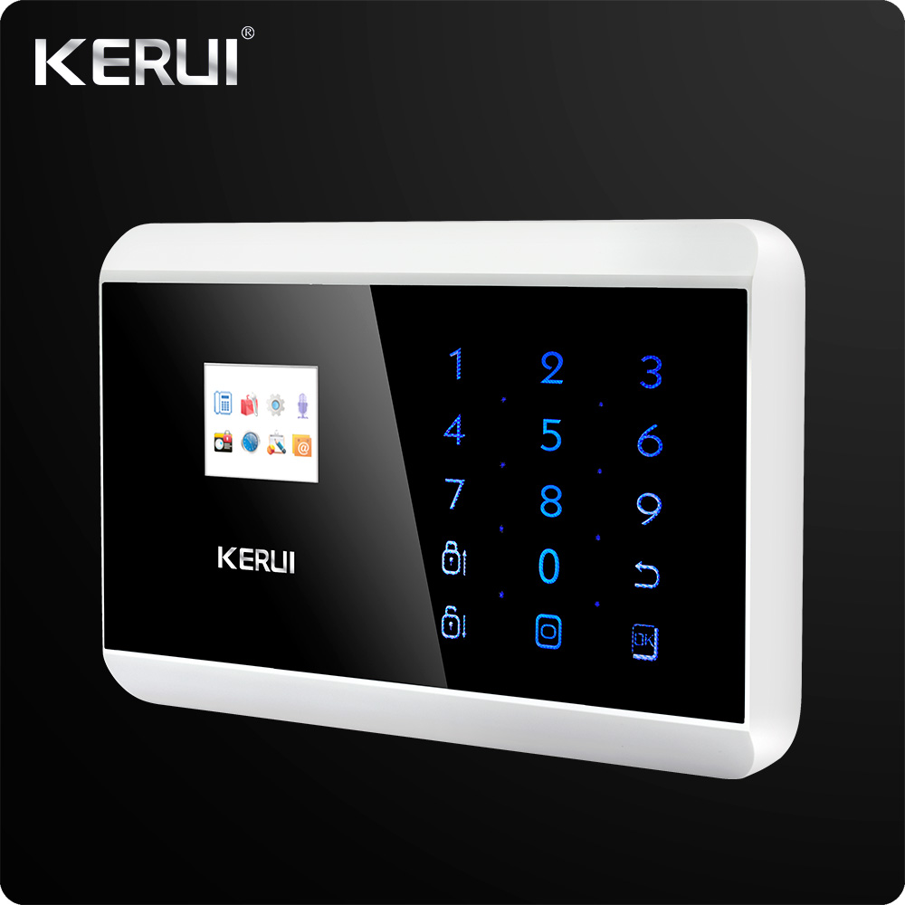 Image 2 - IOS Android APP  Control Touch Panel Wireless GSM PSTN  Dual Net Home Security Burglar  Alarm System  Auto dial Secure System-in Alarm System Kits from Security & Protection
