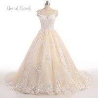 Luxury Lace Ball Gown Wedding Dress Off Shoulder Princess Arabic Muslim Arab Bride Bridal Dress Gown