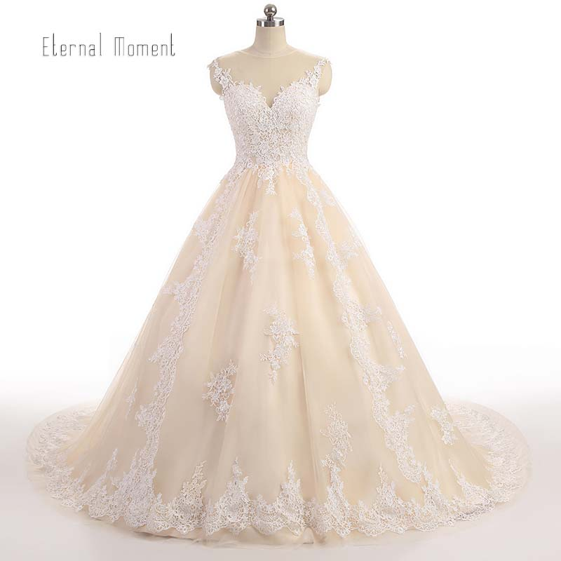Buy luxury lace ball gown wedding dress for Purchase wedding dress online