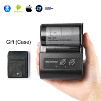 GZM5810 POS Mini Thermal Receipt Printer 58mm Wireless Bluetooth Printer for iOS Android USB Thermal POS Bill Ticket Printer