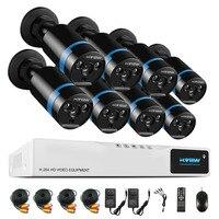 High Quality 1080P HD Outdoor Security Camera System 1080P HDMI CCTV Video Surveillance 8CH DVR Kit